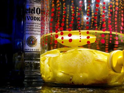 lemon infused vodkas